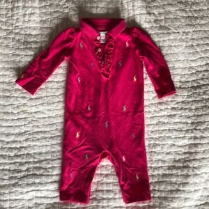 Ralph Lauren baby girl outfit